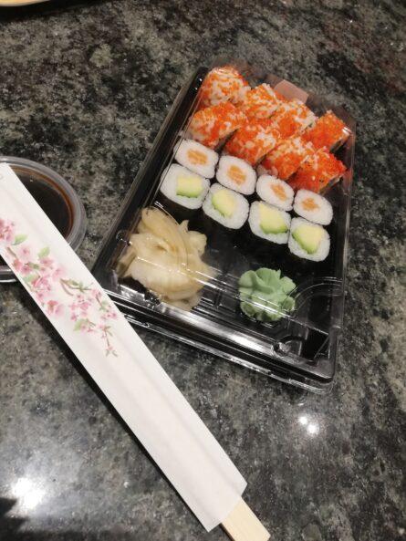 Sushi Menu 4