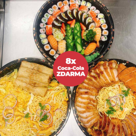 Halong catering menu pre 8 osôb